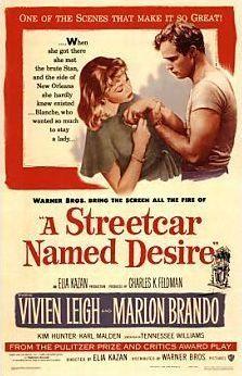 """Все о фильме Трамвай """"Желание"""" (1951) (A Streetcar Named Desire) на Имхонете. Узнайте, понравится ли вам этот фильм, на рекомендательном сервисе."""
