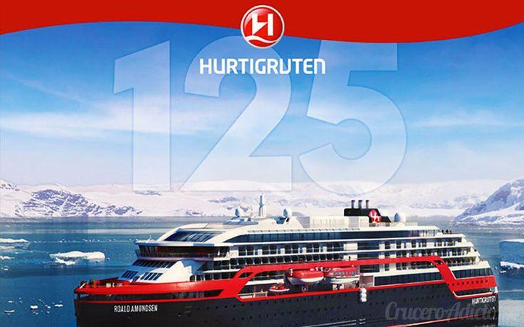Novedades de Hurtigruten para celebrar su 125 aniversario como naviera. Hoy recopilamos todas las novedades tanto de barcos como itinerarios especiales prevista