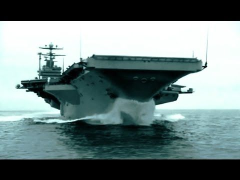 The Largest Aircraft Carrier in The World (full video) Dated The Nimitz Class is the 1st of many including the Abraham Lincoln, George H.W. Bush, Ronald Reagan, &   George W. Bush.