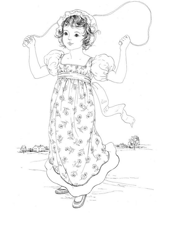 Kate Greenaway Coloring Books | Coloring Pages