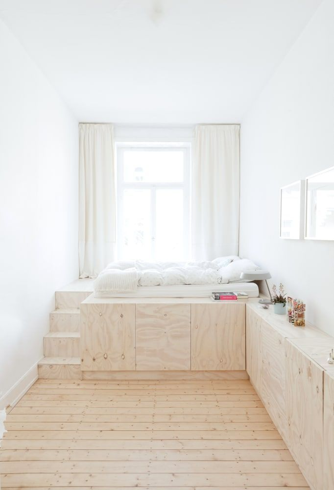Raumwunder Grosse Ideen Fur Kleine Wohnungen Kleine Wohnung Wohnung Kleine Wohnung Schlafzimmer