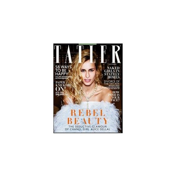 Элис Деллал для Tatler UK, ноябрь 2014. ❤ liked on Polyvore featuring jewelry