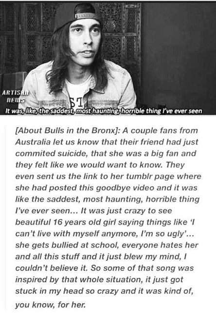 Vic is really too sweet...<< One more reason to love this band.