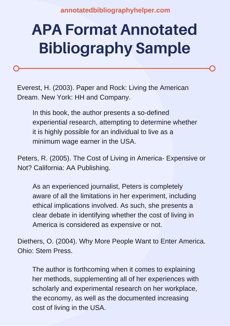 essay apa format examples