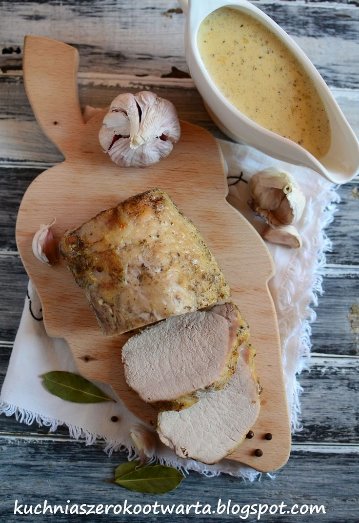 Kuchnia szeroko otwarta: Schab pieczony w mleku