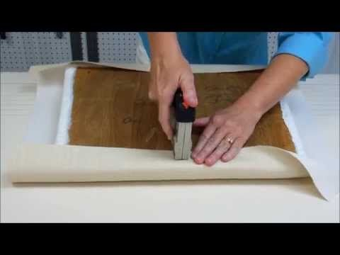 How To Re-Upholster A Chair Seat - Newton Custom Interiors