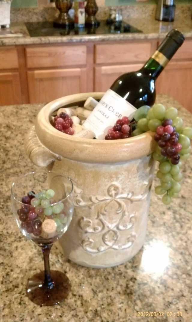 imgur | wine decor kitchen, grape kitchen decor, italian kitchen decor