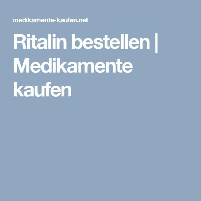 Ritalin bestellen   Medikamente kaufen