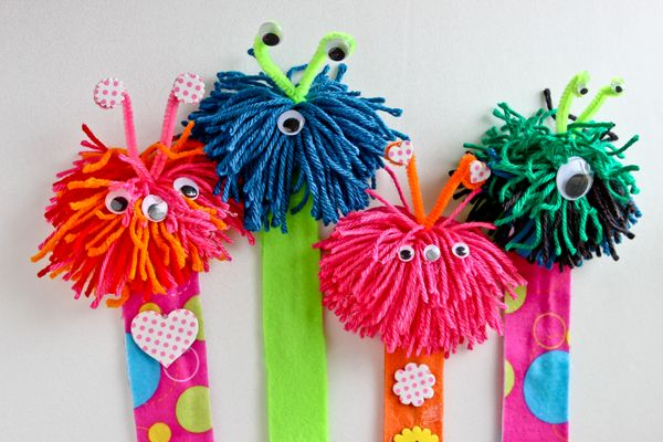 "AOL Image Search result for ""http://www.wrinkledmommy.com/wp-content/uploads/2014/02/yarn-monster-book-marks.png"""