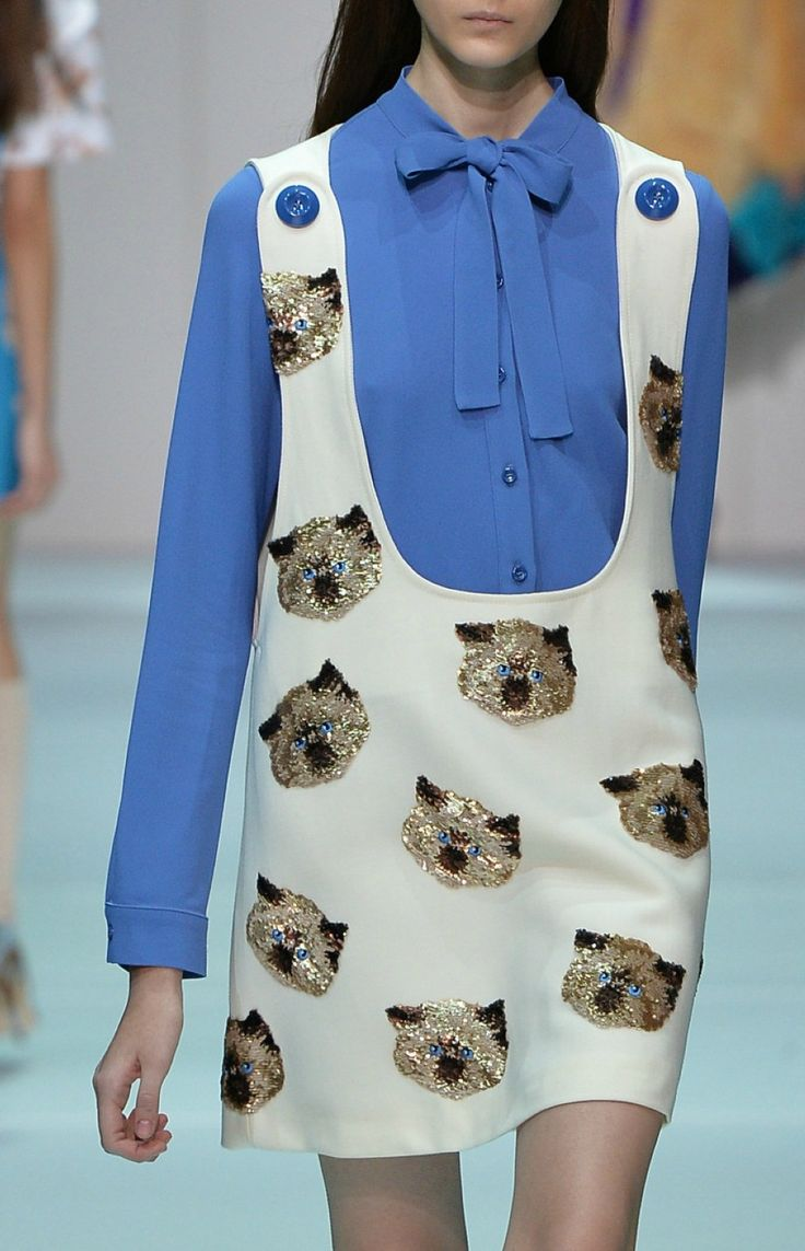 Is that Grumpy Cat!?! Proof that just because it's on the runway doesn't make it even remotely acceptable.