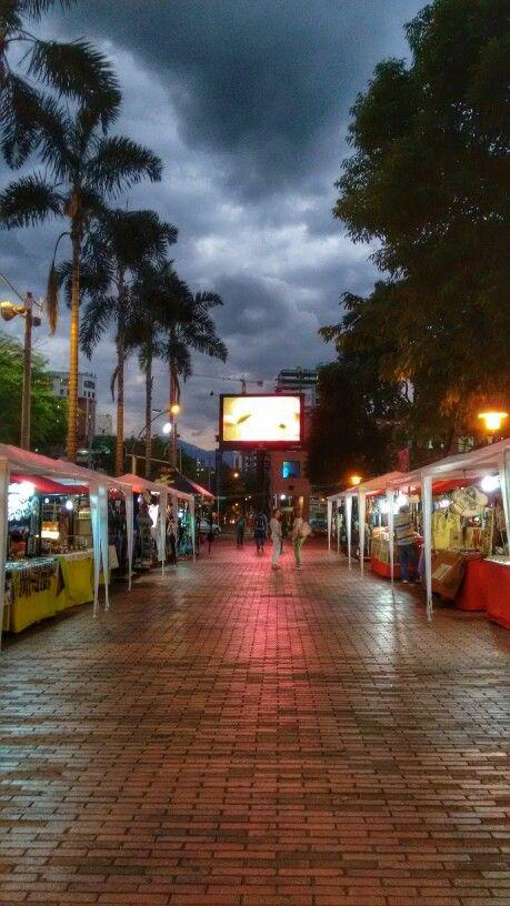 Parque del poblado. Medellin (Segunda celugrafía)