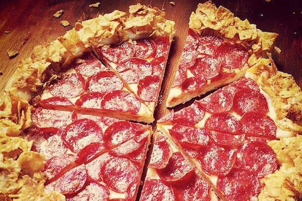 Pizza Hut introduces a Doritos and cheese crust pizza and the internet completely loses it