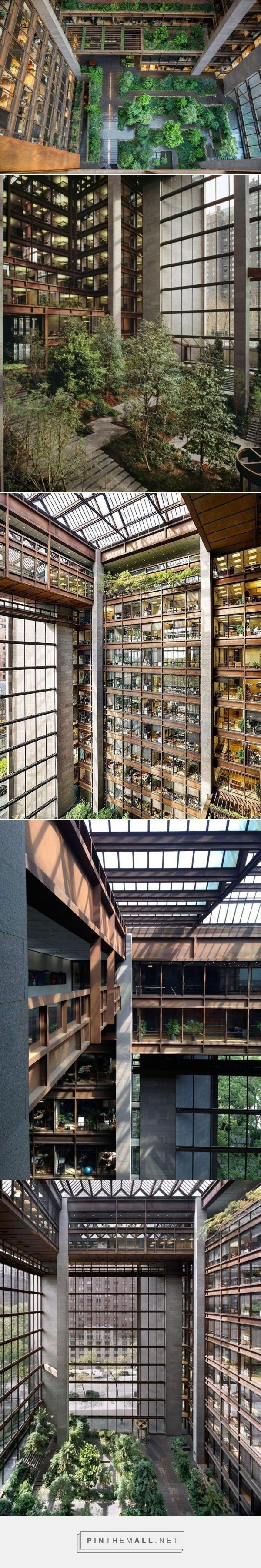 Ford Foundation Atrium NYC.  The Landscape Architecture Legacy of Dan Kiley.