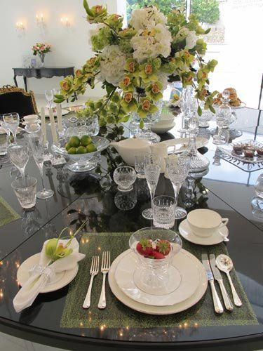Waterford crystal place setting