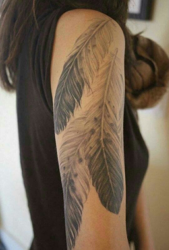 Eagle Feathers Tattoo