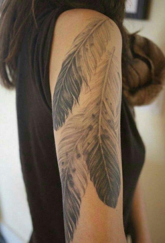 Eagle Feathers Tattoo