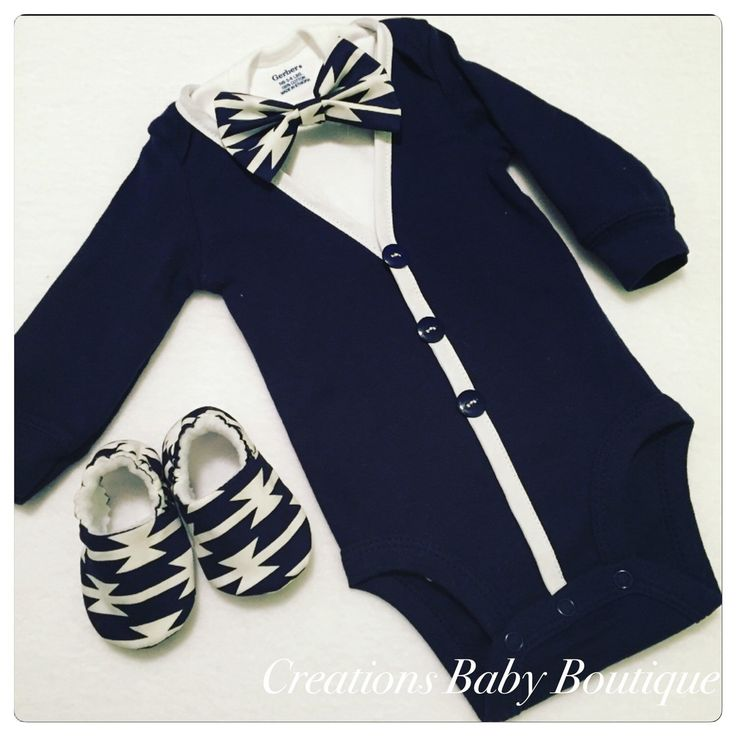 Baby boy cardigan onesies , bow tie and shoes set , Easter outfit , baby boy outfit , baby boy clothes set by CreationsBabyB on Etsy https://www.etsy.com/listing/287936261/baby-boy-cardigan-onesies-bow-tie-and