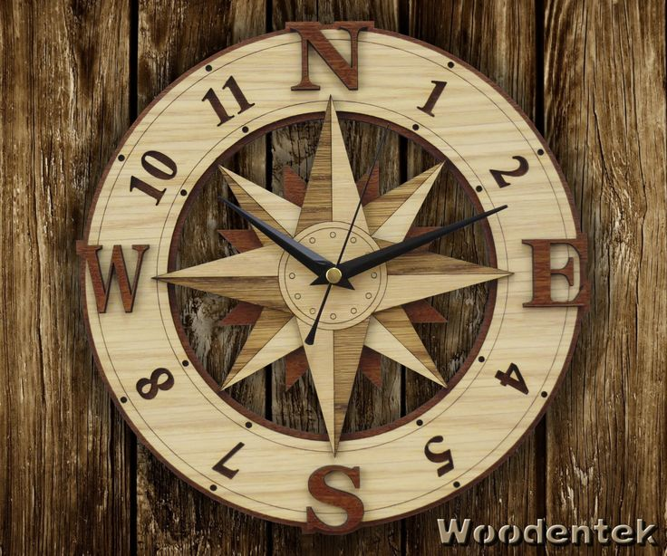 Handmade Compass Clock in wood - Wind Rose wallclock.  Worldwide Shipping. Available in:  www.woodentek.etsy.com …. #CompassRoses #compass #outdoor #camping #trakking #adventure #trip #direction #hike #trail #sailor #nautical #boating #marine #sailing #yachting #map #RosadelosVientos #brujula #BirthdayGifts #MothersDay #FathersDay #Giftforme #Gifts #GiftsIdeas #Christmas #WishList #Giftformen #Giftforher #WallClock #fanart #holiday #holidaygifts #giftguide #present #xmas #giftshop