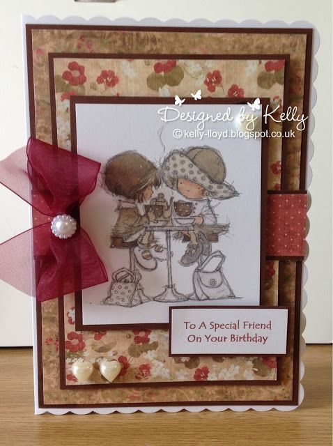 LOTV - My Best Friend Art Pad 10 with Country Lady Paper Pad by Kelly Lloyd