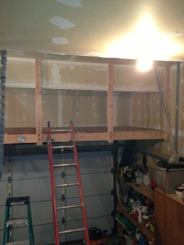 25 best ideas about garage loft on pinterest garage for Garage storage loft designs