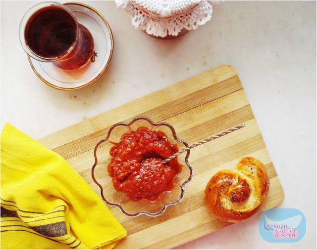kahvaltılık sos yapımı. lutenitsa yapımı. lutenitsa nasıl yapılır ? domatesli sos yapımı.