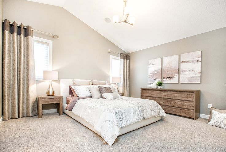 Ready to take a restful nap in this master bedroom?