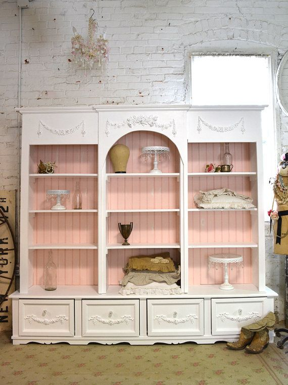 Wow! This made to order handmade china cabinet is stunning. All hand crafted right in our studio from solid wood . Great bookcase or china