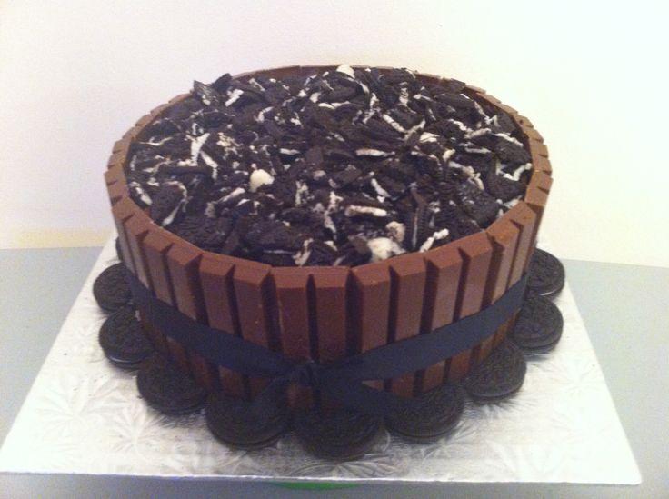 Oreo Kit Kat Cake