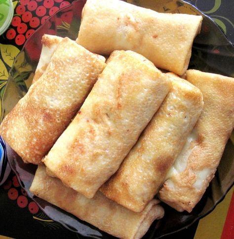 Blinchiki (Pancakes). Ukrainian Recipe