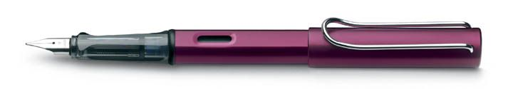 """The Lamy AL-Star in black purple is one of my """"daily carry"""" pens because of its solid EF nib and light body."""