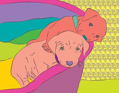 "Check out new work on my @Behance portfolio: ""Doggy illustration"" http://be.net/gallery/45633381/Doggy-illustration"