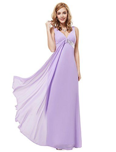 My Wonderful World Women's V-Neck Long Prom Dresses Small Light Purple My Wonderful World Dresses http://www.amazon.com/dp/B014R10C00/ref=cm_sw_r_pi_dp_DpL5vb1HN0JKD