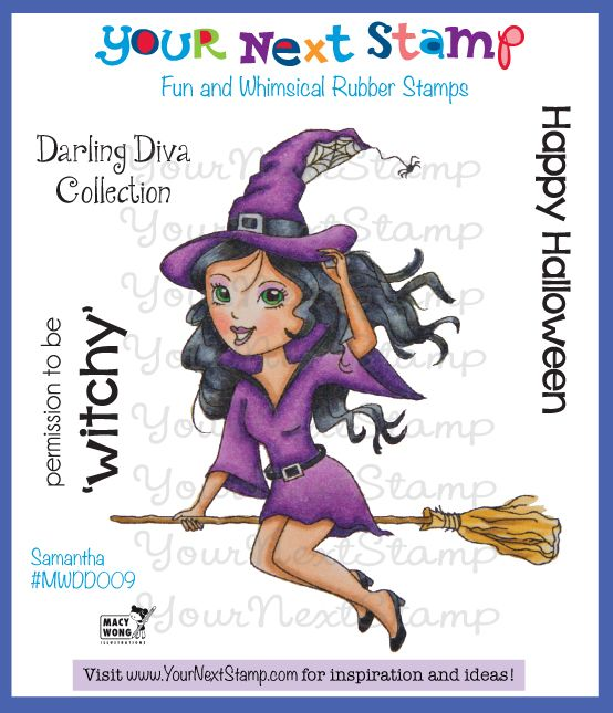 Samantha - Darling Diva (cling set) [MWDD009] - USD9.95 : Your Next Stamp