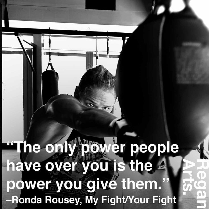 """""""The only power people have over you is the power you give them"""" -Ronda Rousey #quote #quotes #inspiring #inspiration #rondarousey #rowdyronda"""