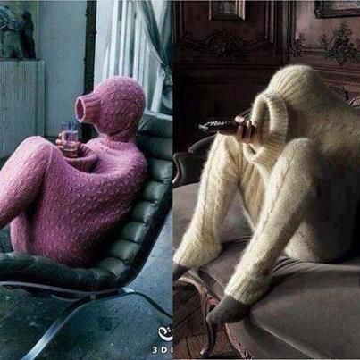 For the cold winter days. I think I could definitely use one of these. I'm just way too sensitive to cold. hahaha.