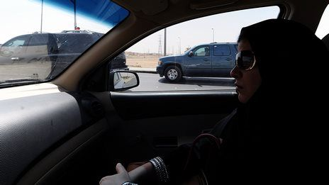 Saudi women seek right to drive
