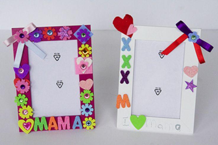 Moederdag fotolijst side http://www.snazzie.nl/categorie/knutselen/blogs/voor-de-liefste-moeder