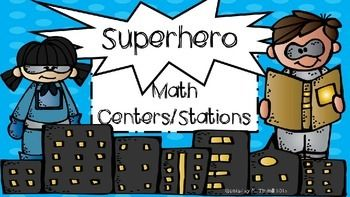 This file contains everything you need to set up your guided math center rotations. It is superhero themed in primary colors using the acronym H.E.R.O. H- Hands on mathE- Extra fact practiceR- Ready gamesO- on task with teacherThe files contains the following- *group number cards (1-4) with group member recording chart*center rotation cards*center bin labels*blank center explanation cards (one for each center)*group rotation chart for teacher use*math hero sign for board decoration