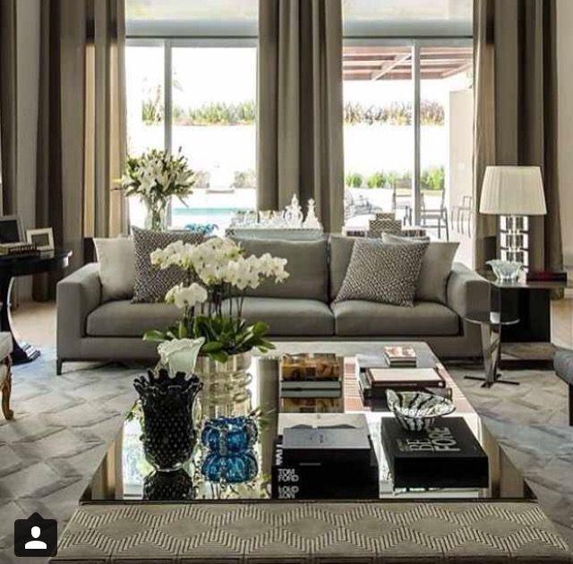 412 besten Glamours Living Rooms Bilder auf Pinterest Wohnzimmer - luxus wohnzimmer dekoration