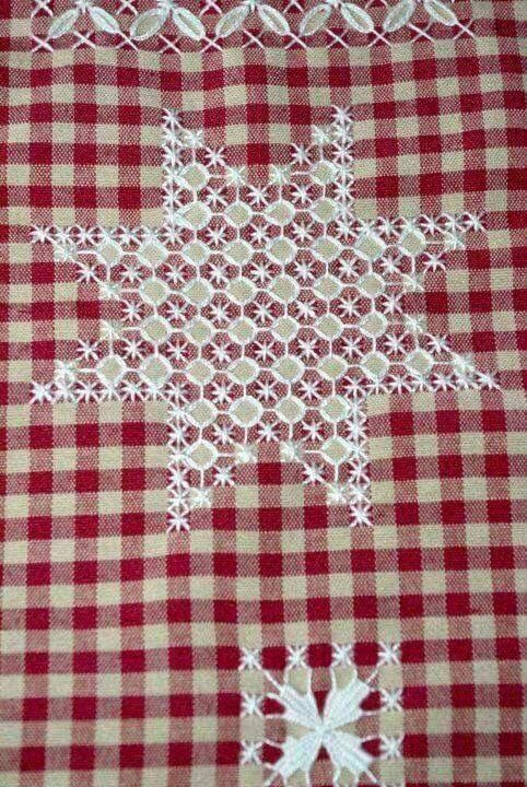 Images about gingham embroidery on pinterest cats