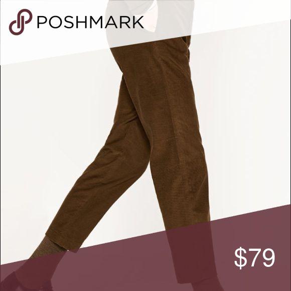 Zara Men's Carrot Cropped Trousers. Zara men's carrot cropped dark brown trousers. Brand new, never worn. Waist US 32. Out-of-stock online! Zara Pants Dress