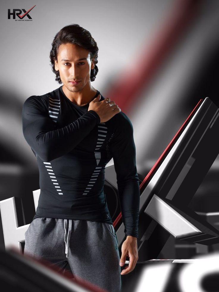 Tiger Shroff #Photoshoot #Bollywood #India #HRX #Fashion #TigerShroff