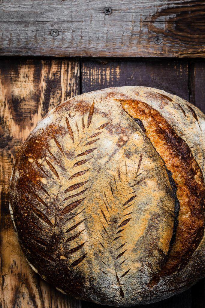 Moj Chleb Na Bazie Maki 650 Pszennej I Maki Z Pelnego Przemialu Ania S Vibrant Kitchen Recipe Food Bread Healthy Recipes