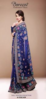 Latest Fashion Trends: Latest Embroidered Dresses By Bareeze For Women 2013-2014