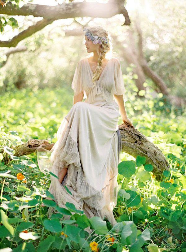 treccia per sposa bohemian | Wedding Wonderland