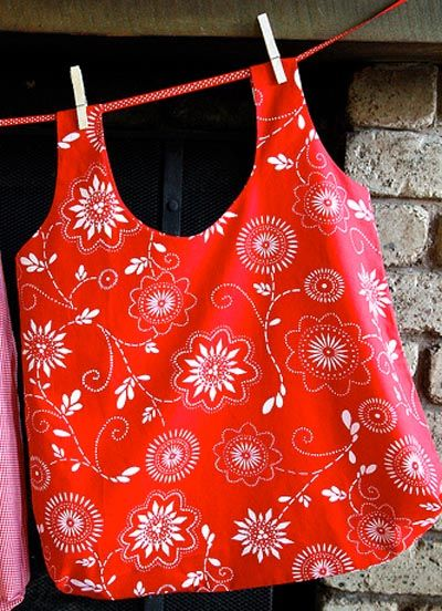 Lots of patterns for reusable grocery bags