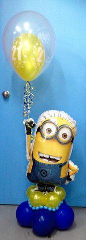 Minion Balloon Display