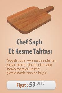 Chef Saplı Et Kesme Tahtası