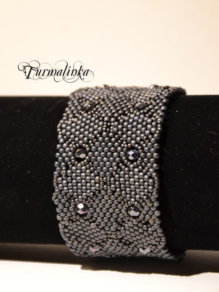 beading - Turmalinki - projektowanie biżuterii