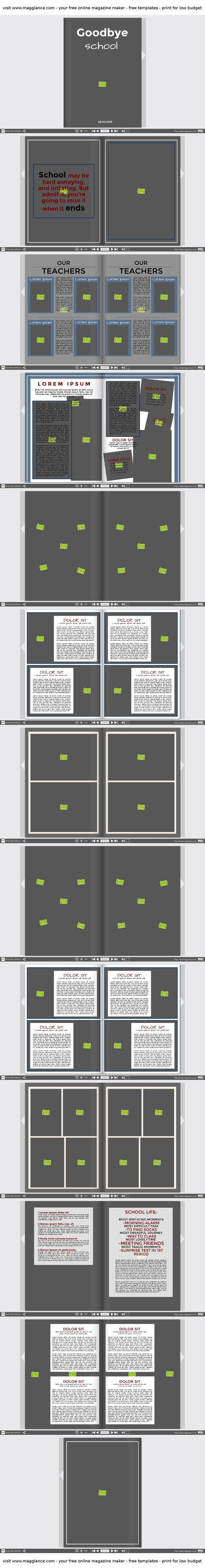 Abizeitung und Schülerzeitung kostenlos online erstellen und günstig drucken unter https://de.magglance.com/zeitung/zeitung-erstellen #Zeitung #Magazin #Abizeitung und Schülerzeitung #Vorlage #Design #Muster #Beispiel #Template #Gestalten #Erstellen #Layout #Idee